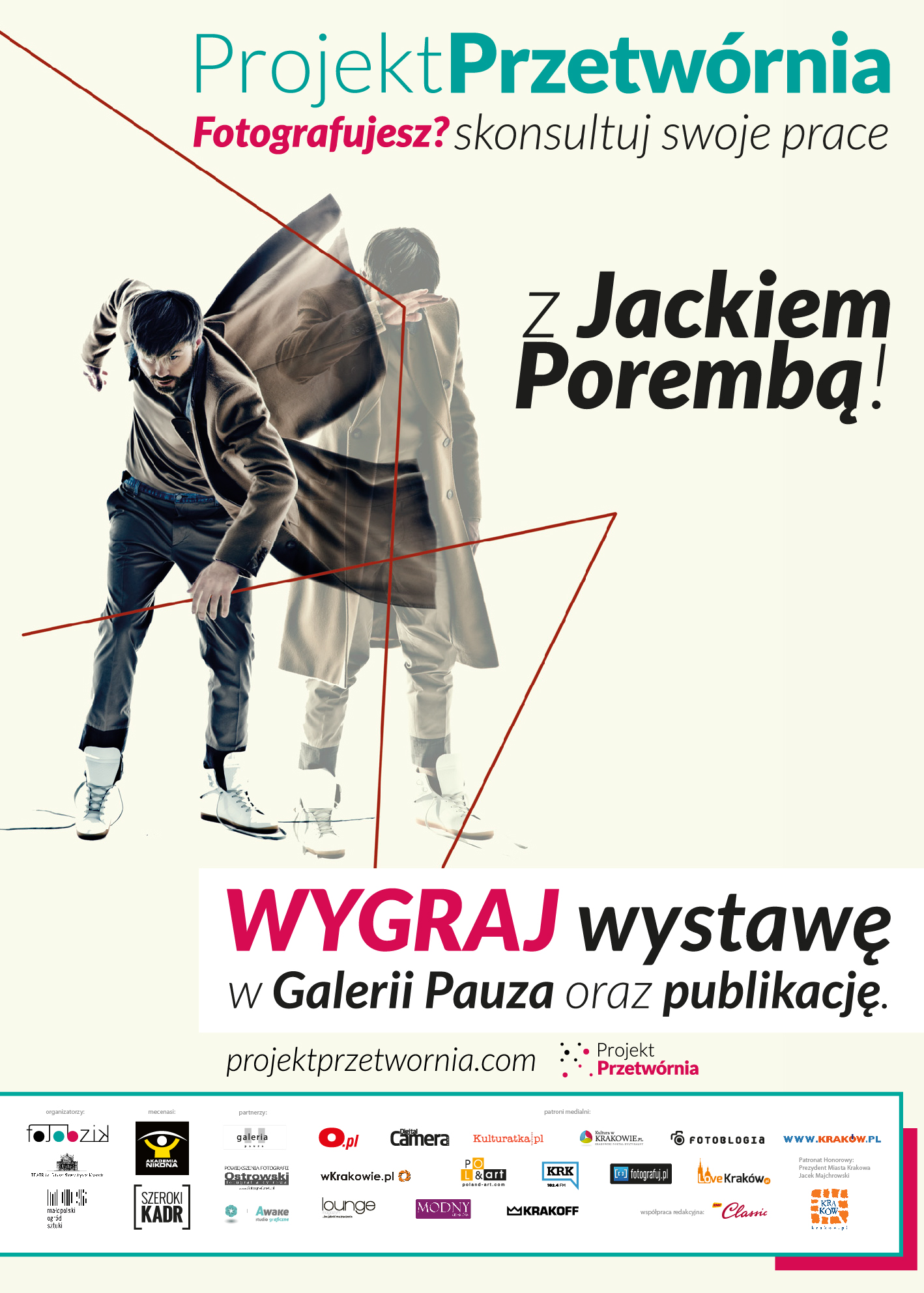 Projekt Pryetwrnia 2 plakat,72-02