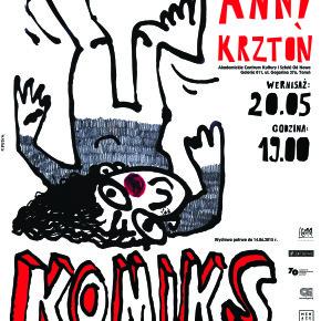 Komiks i inne nieszczęścia - wystawa Anny Krztoń