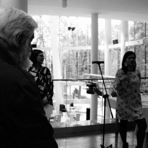 Fotorelacja z otwarcia wystawy Jowity Lis PAUZA: OBRAZ NASTĘPCZY oraz pracowni N'602
