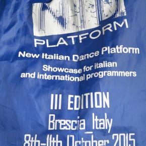 Marsz! na New Italian Dance Platform 2015