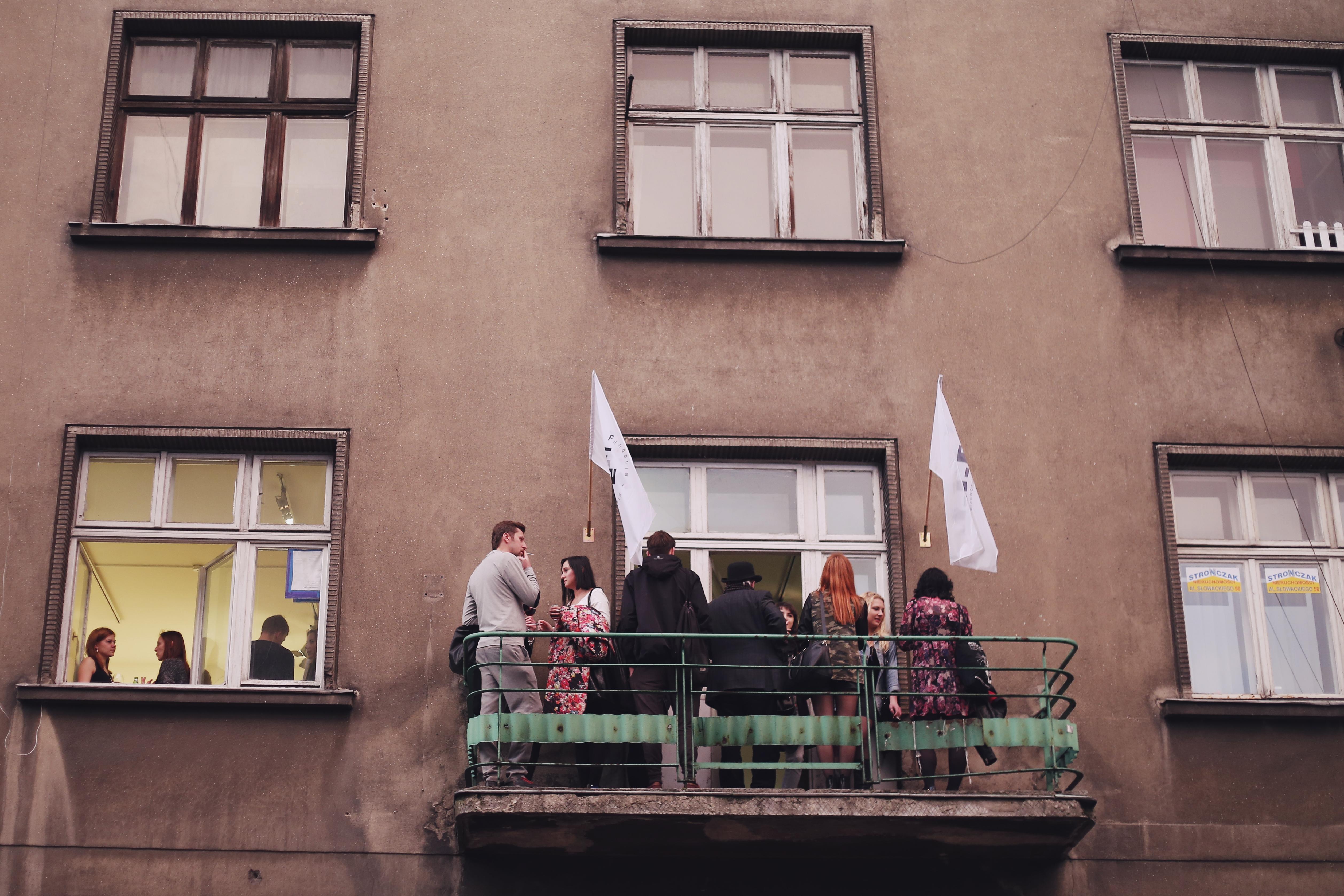 """IV edycja Cracow Gallery Weekend Krakers 2015, Wystawa zbiorowa – """"Królów jest bez liku"""", F.A.I.T., fot. Joanna Rytter"""