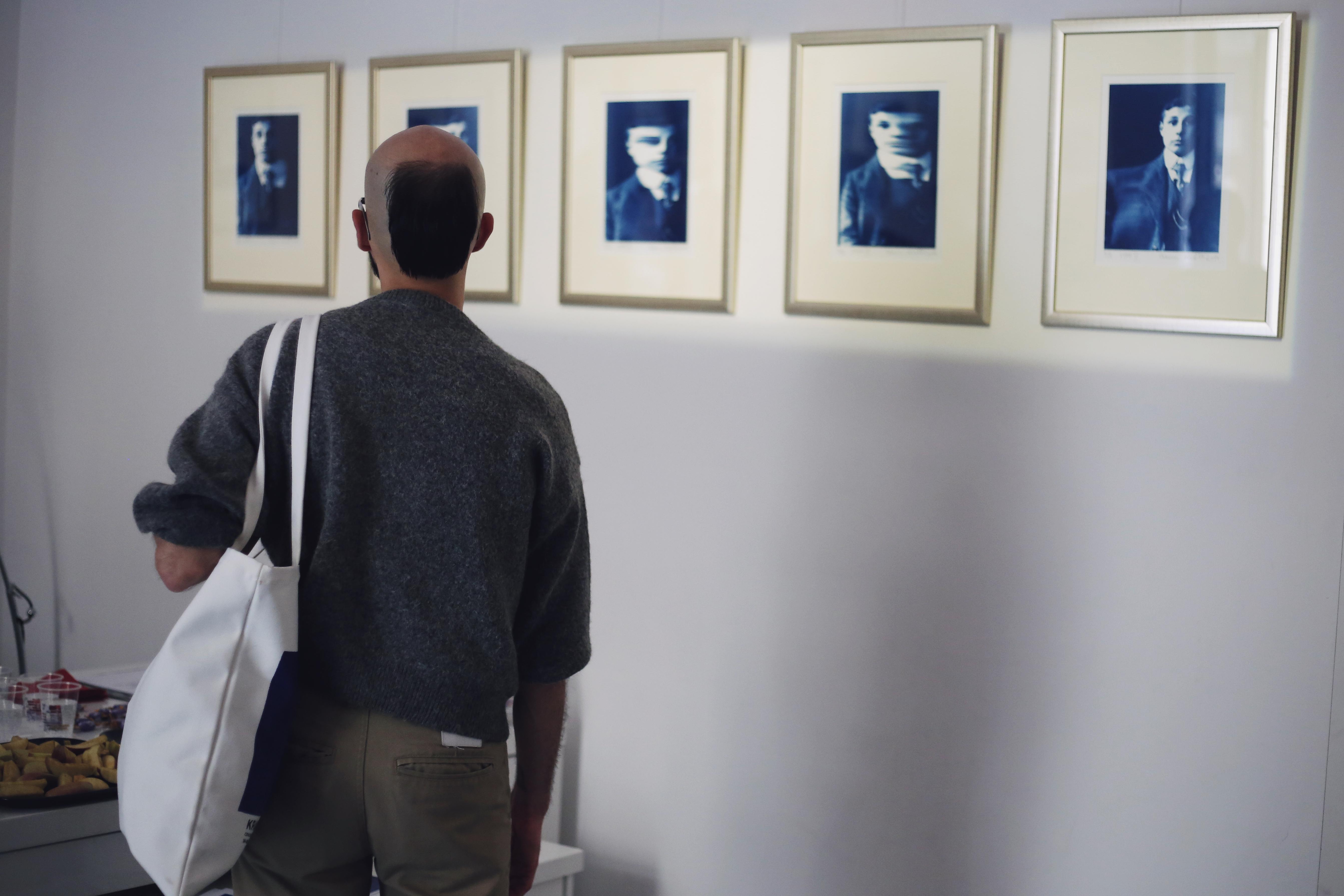 """IV edycja Cracow Gallery Weekend Krakers  2015, Adam Kiełb – """"Cyjanotypie"""", Galeria   Trzecie Oko, fot. Joanna Rytter"""