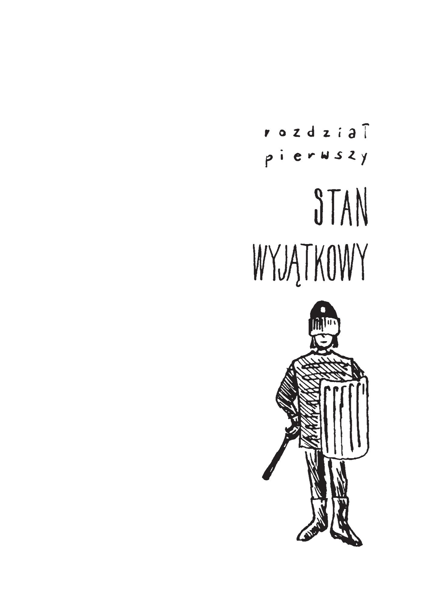 """Rys. Michał Pogoda """"Łoś i Kot"""""""