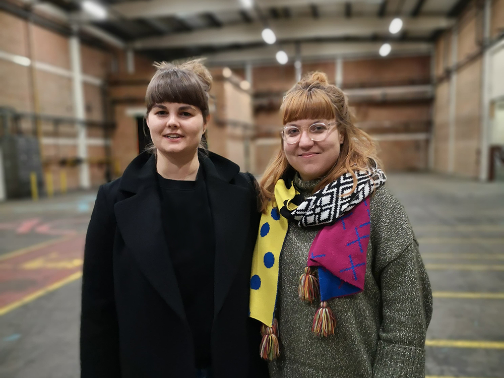 ONE Project. Magdalena Żołędź i Marta Grabowska, fot. Zula Rabikowska, London 2020